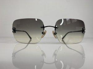 Chanel Gafas Retro negro-gris antracita