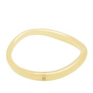 Chanel Braccialetto sottile bianco Clorofibra