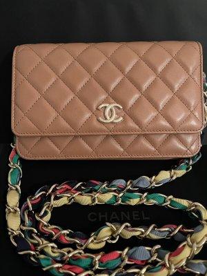 Chanel Wallet on Chain Karamelbraun-neu
