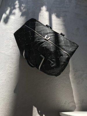 Chanel Sac weekender noir-blanc