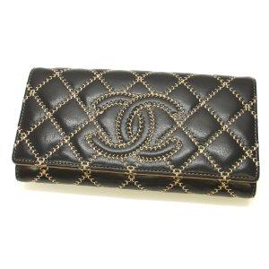 Chanel Wild Stitch CC Long Wallet