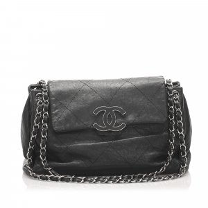 Chanel Wild Stitch Hamptons Accordion Flap Bag