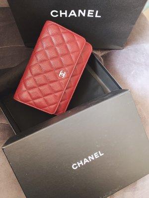 Chanel Mini Bag dark red