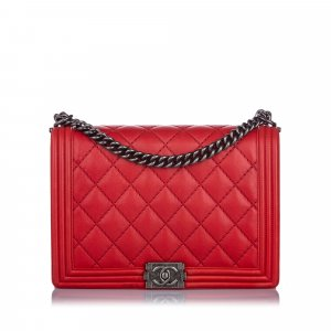 Chanel XL Double Stitch Boy Bag