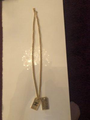Chanel Złoty łańcuch złoto