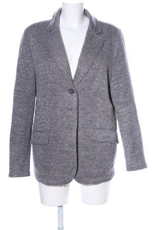 Change by White Label Veste en tricot gris clair moucheté style décontracté