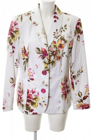 Changes by Together Long Blazer flower pattern casual look