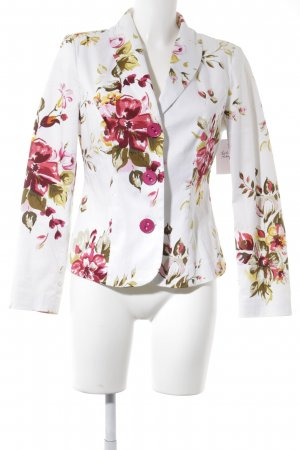 Changes by Together Long Blazer floral pattern business style