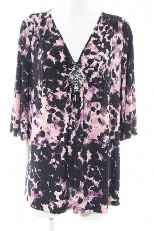 Changes by Together Tunic Blouse black-pink allover print casual look