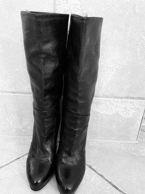 Chanel Stivale a gamba corta nero