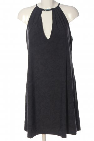 Chantelle Halter Dress black flecked casual look