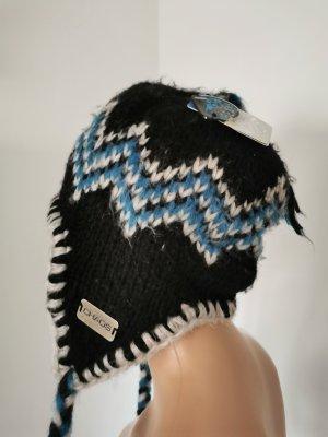 Cappello a maglia multicolore