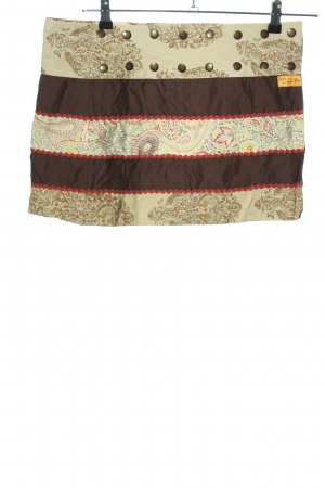 Chapati Miniskirt abstract pattern casual look