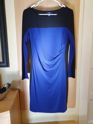 Chaps Stretch Dress blue