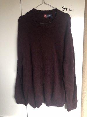Chaps Sweat Shirt bordeaux-blackberry-red