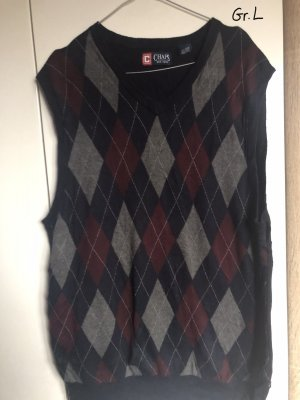 Chaps Knitted Vest multicolored