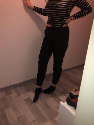 Pull & Bear Baggy Pants black