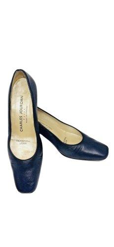 Charles Jourdan Classic Court Shoe black