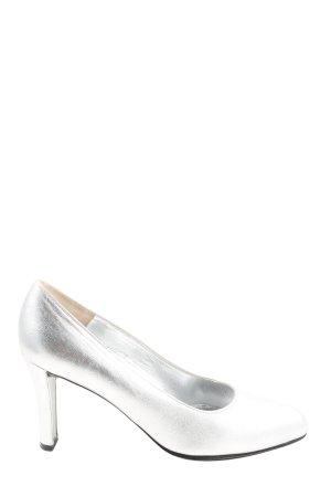 Charles Jourdan Loafers zilver elegant