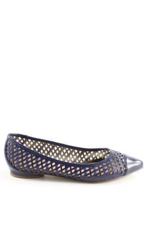Charles & Keith Ballerinas with Toecap blue casual look