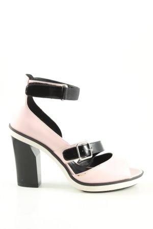Charles & Keith High Heel Sandaletten pink-schwarz Casual-Look