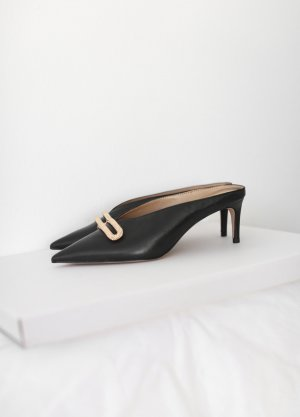 Charles & Keith Pointed Toe Pumps black