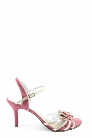Charles & Keith Peeptoe Pumps pink Casual-Look
