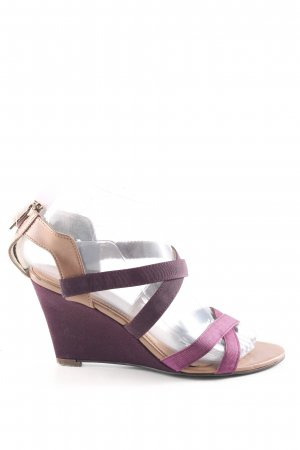Charles & Keith Platform High-Heeled Sandal multicolored casual look