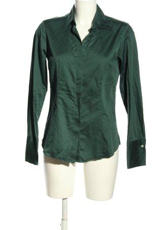 Charles Tyrwhitt Long Sleeve Blouse green elegant