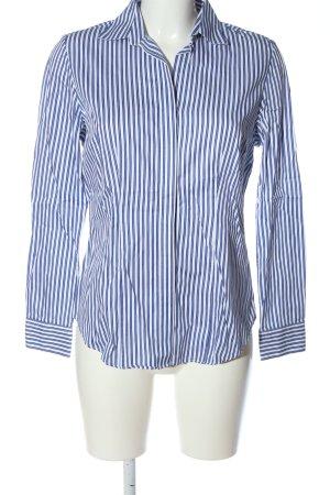 Charles Tyrwhitt Long Sleeve Shirt blue-white allover print business style
