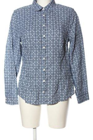 Charles Tyrwhitt Long Sleeve Shirt blue-white allover print casual look