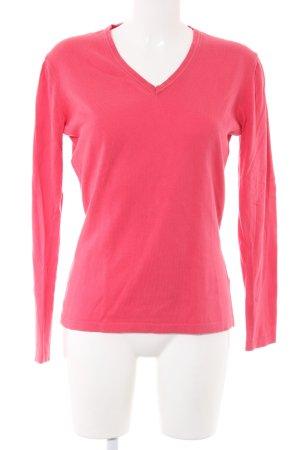 Charles Tyrwhitt V-Neck Sweater red casual look