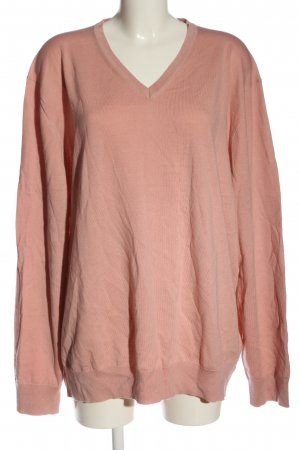 Charles Tyrwhitt V-Neck Sweater pink casual look