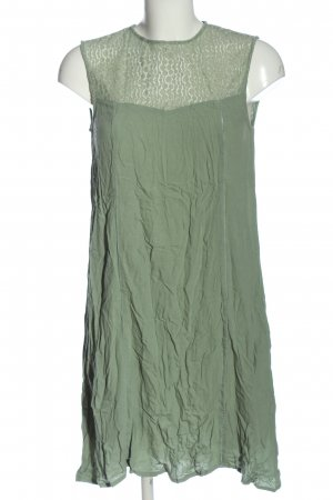 Charles Vögele A-Linien Kleid grün Elegant