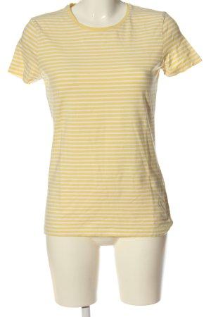 Charles Vögele  giallo pallido-bianco stampa integrale stile casual