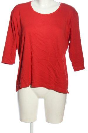 Charles Vögele Basic Shirt red casual look