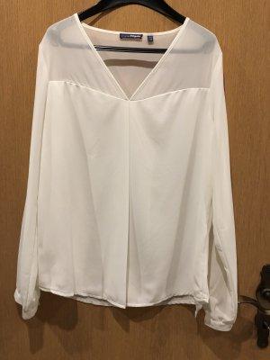 Charles Vögele Long Sleeve Blouse white