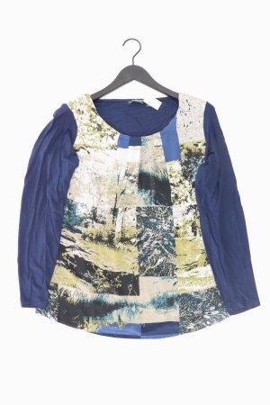 Charles Vögele Bluse Größe 44 mehrfarbig aus Polyester