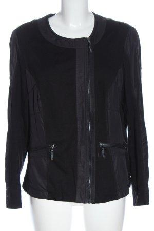 Charles Vögele Coarse Knitted Jacket black casual look