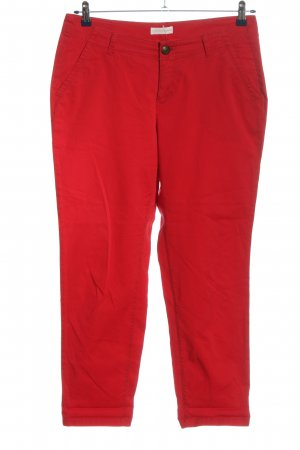 Charles Vögele High Waist Trousers red casual look