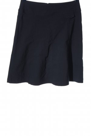 Charles Vögele Spódnica z wysokim stanem czarny W stylu casual