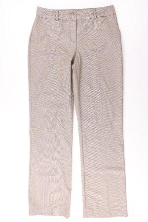 Charles Vögele Hose Größe 38 braun aus Polyester