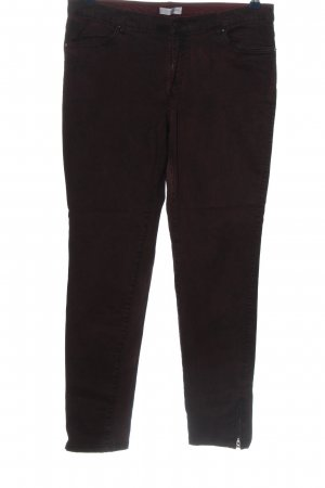 Charles Vögele Pantalone peg-top marrone stile casual