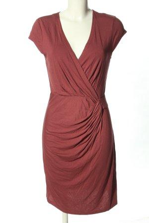 Charles Vögele Sukienka z krótkim rękawem brązowy Elegancki