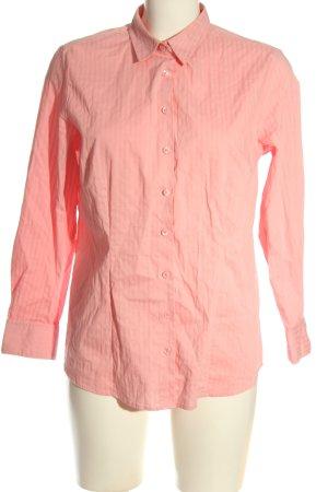 Charles Vögele Camicia a maniche lunghe rosa stile professionale