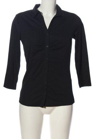 Charles Vögele Koszula z długim rękawem czarny W stylu casual
