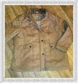 Charles Vögele Oversized Jacket beige-sand brown mixture fibre