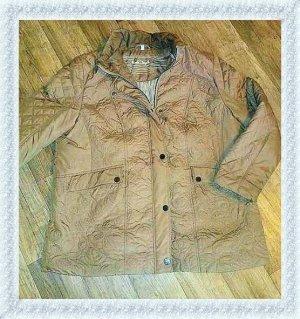 Charles Vögele Veste oversize beige-chameau tissu mixte