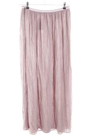 Charles Vögele Maxirock pink Casual-Look