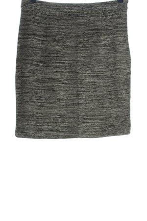 Charles Vögele Spódnica mini jasnoszary Melanżowy W stylu casual